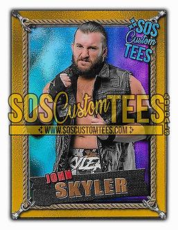 John Skyler Memorabilia Trading Card - Violet