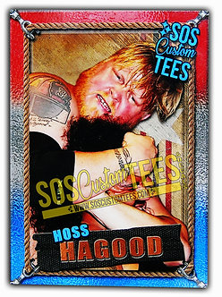 Hoss Hagood Trading Card - USA