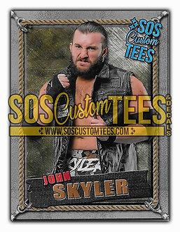 John Skyler Memorabilia Trading Card - Silver