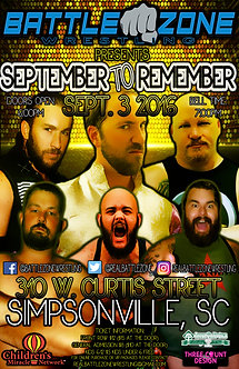 BZW: September to Remember 2016