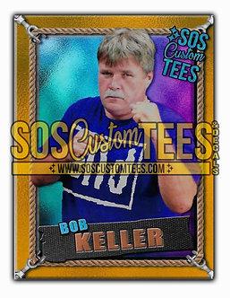 Bob Keller Memorabilia Trading Card - Violet