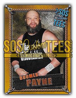 Boomer Payne Memorabilia Trading Card - Gold