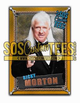Ricky Morton Memorabilia Trading Card - Gold