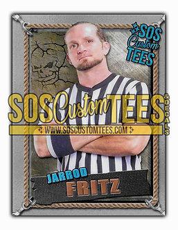 Jarrod Fritz Memorabilia Trading Card - Silver