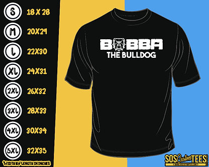 Bubba The Bulldog Retro Tee