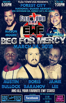 EWF: Beg for Mercy 2018