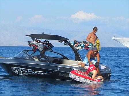 ספורט ימי על יאכטה