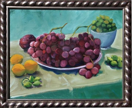 Grapes by Peter Aldrich