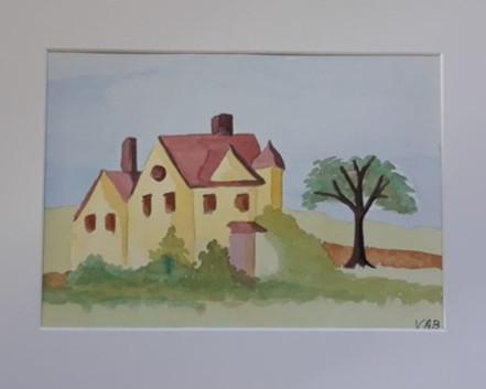 Yellow House by Virginia Bradley