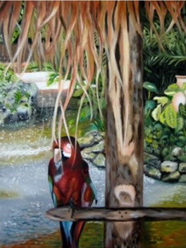 Tropical Garden by Ron Brule