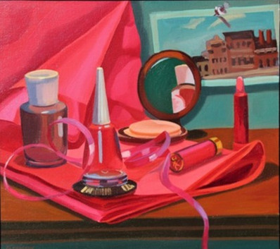 Cosmetic Still Life by Deborah Clearman