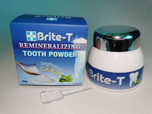 Brite-T Remineralizing Brightening Tooth Powder 20g