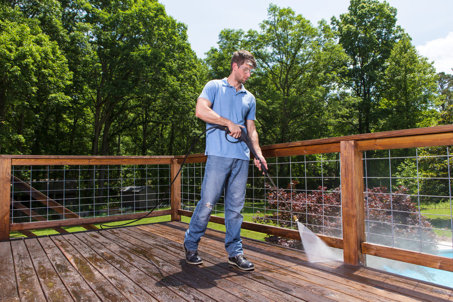 Deck Cleaning and Seal Coating