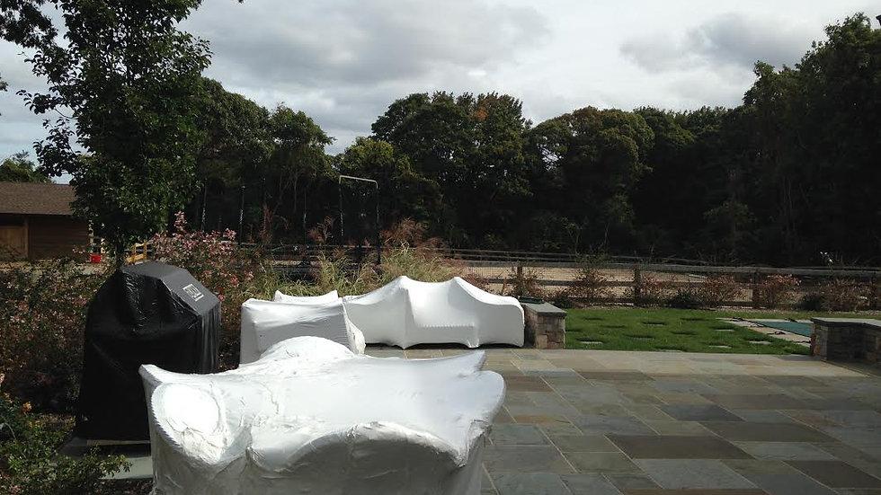 Long Island | Outdoor Furniture Winterizing | Patio Furniture Boat Wrap |  Starts