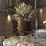 Blossom Tree Wedding Centrepiece