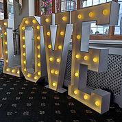 4ft LED 'LOVE' Letter - Warm White