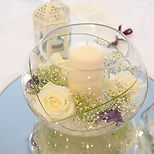 Fish Bowl Wedding Centrepieces