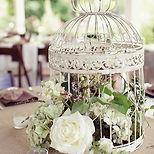 Birdcage Wedding Centrepieces