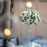 Glass Vase Wedding Centrepieces