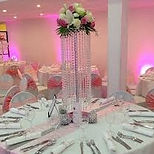 Crystal Chandalier Wedding Centrepieces