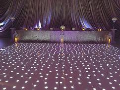 A Full Range of LED Starlit Dance Floors. Available in all sizes - 16ft x 16ft LED Dance Floor. White LED Dance Floor. Black LED Dance Floor