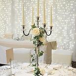 Candelabra Wedding Centrepieces
