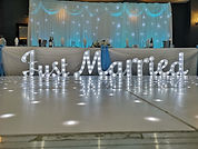 2ft LED 'Just Married' Sign