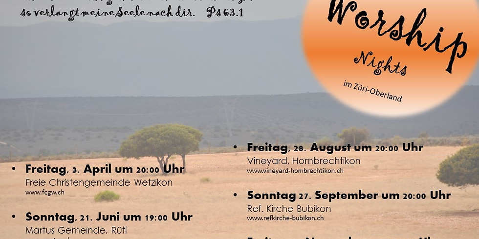 Worship Nights Zürcher Oberland