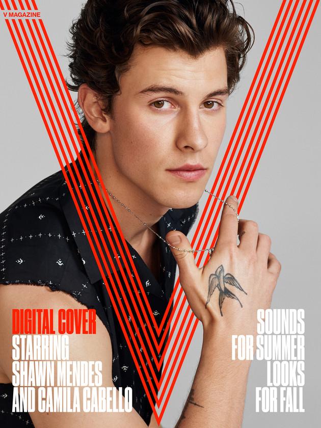 Digital cover for V Magazine