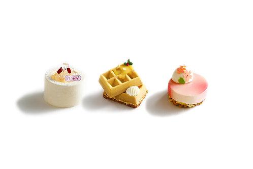 Petit Gateau Set ( Any 3 Items )