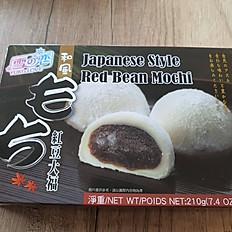 Vörösbabkrémes Mochi (6 db)
