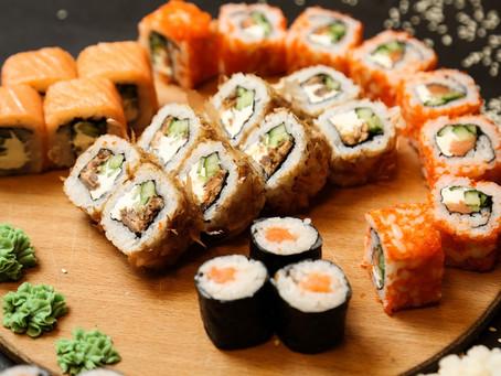 Sushi készítése lépésről lépésre