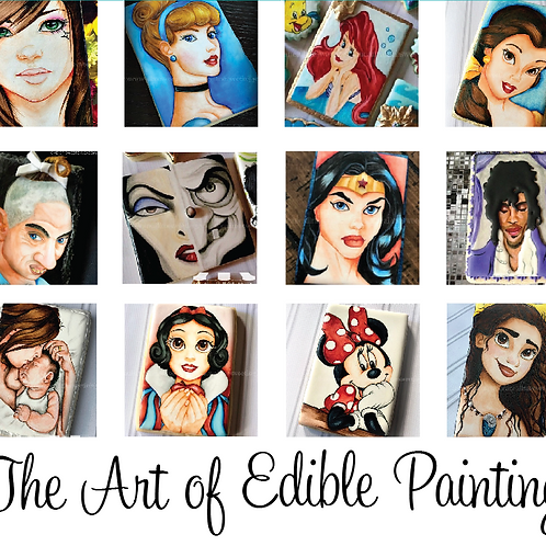 The Art of Edible Painting (Character TBA): Monterey- July 18th 10am-6pm