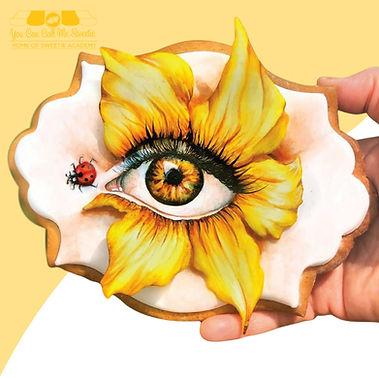 Sunflower_Eye_Cookie_Painting_Class_Sand