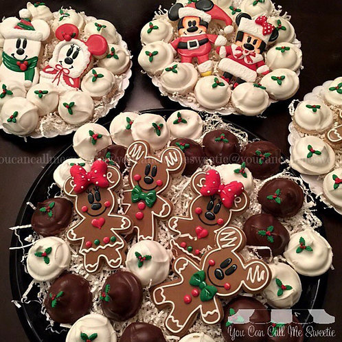Christmas Cookie Platters-14 count