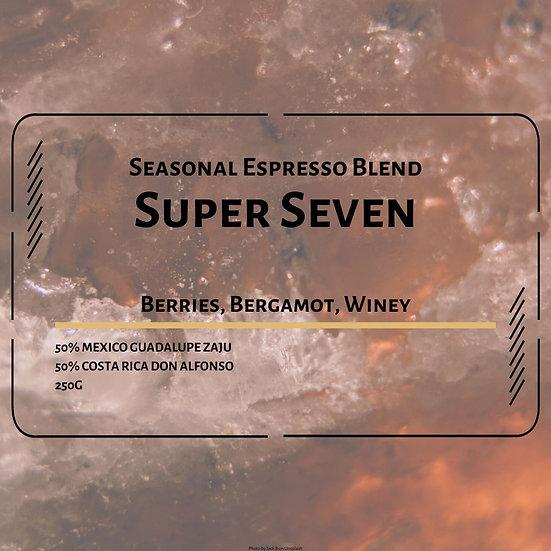 Super Seven (Seasonal Espresso Blend)