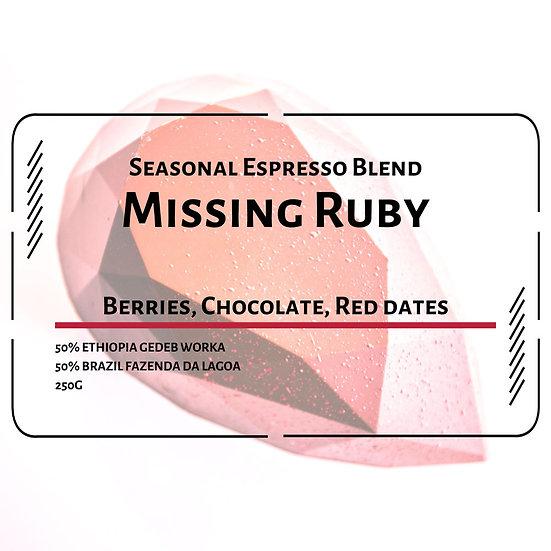Missing Ruby (Seasonal Espresso Blend)
