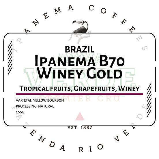 Brazil Ipanema Anima Verde B70 Winey Gold