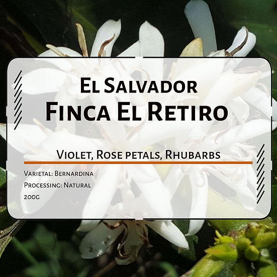 El Salvador Finca El Retiro Bernardina