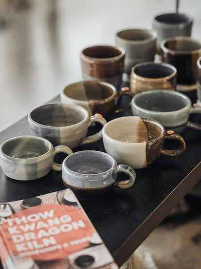 Handcrafted Ceramic Cups by Thow Kwang Pottery Jungle