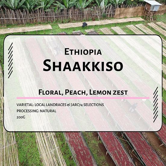 Ethiopia Shaakkiso Shoondhisa