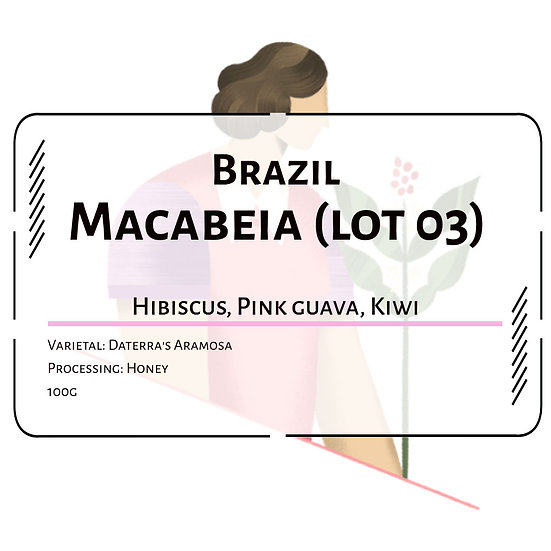 Brazil Daterra 'Macabeia' Aramosa