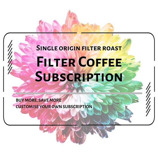 Single Origin Filter Coffee Subscription