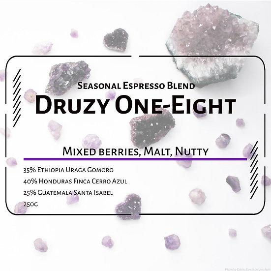 Druzy One-Eight (Seasonal Espresso Blend)