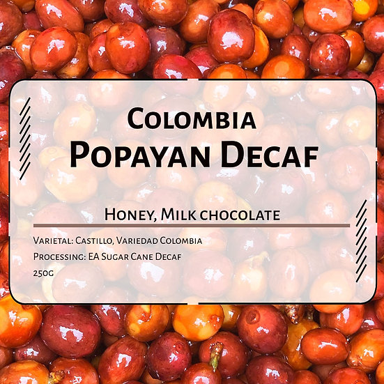 Colombia Popayan Reserve Decaf
