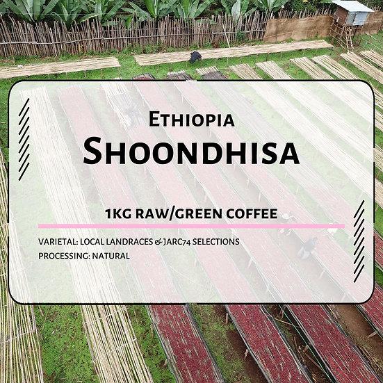 Ethiopia Shoondhisa Shaakkiso