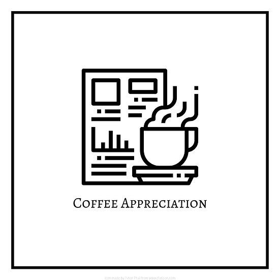Coffee Appreciation Logo for Workshop
