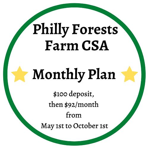 Monthly CSA Box Plan