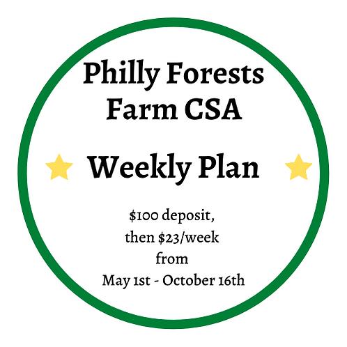 Weekly CSA Box Plan