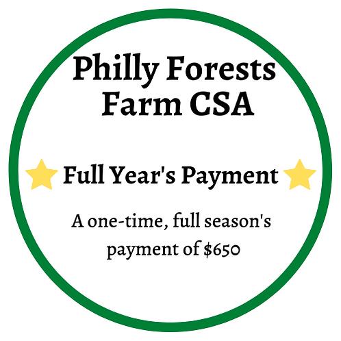 Full Season CSA Box